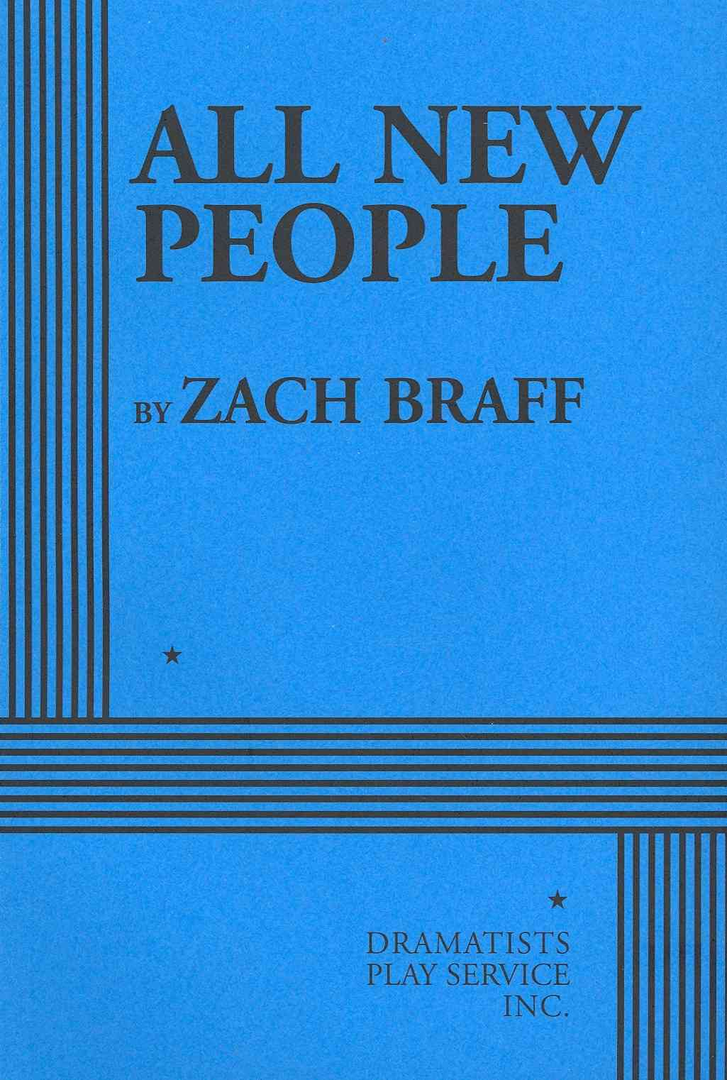 All New People By Braff, Zach
